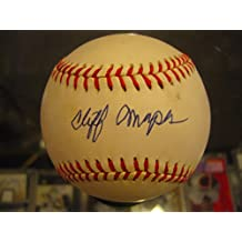 Autographed Cliff Mapes Ball - Single Authentic - JSA Certified - Autographed Baseballs