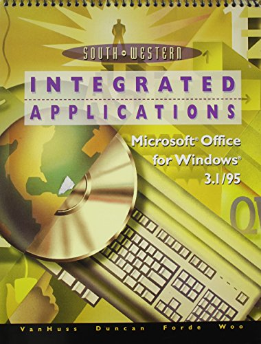 College Keyboarding Microsoft Word 6.0/7.0 Word Processing: Integrated Applications