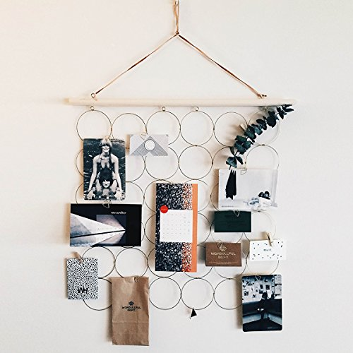 HAYATA DIY Photo Hanging display Picture Frames & Prints Multi Photos Organizer & Collage Artworks - Memo Board Decorative Dorm Bedroom Christmas Decorations (Christmas Collage Frames)
