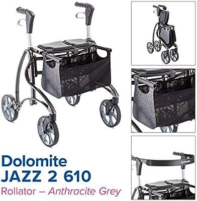 Invacare Dolomite Jazz 2 610 - Andador con ruedas, color gris ...