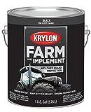 Krylon 1965 Krylon Farm & Implement Paints Low Gloss Black 128 oz. Gallon Krylon Farm & Implement Paints
