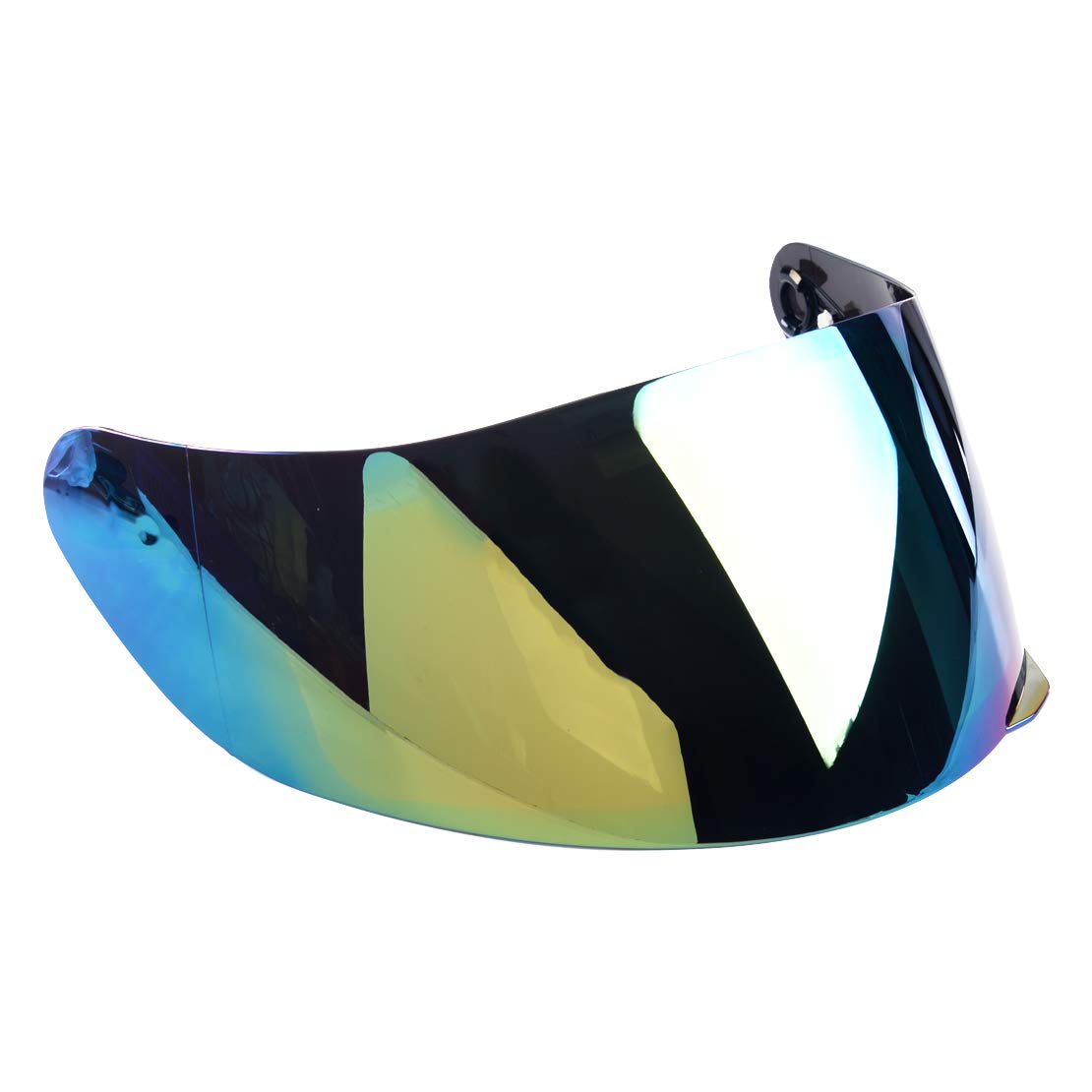 eastar Rainbow Motorcycle Safety Wind Shield Helmet Lens Wide Visor Fit For AGV K1 K3SV K5