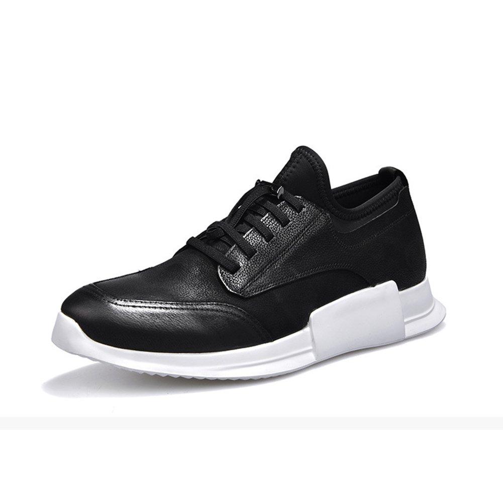Herren Leder Turnschuhe 2018 Herbst Winter Neue Mens Fashion Low-Top Sportschuhe Outdoor Travel Schuhe Laufschuhe (Farbe   C, Größe   40)