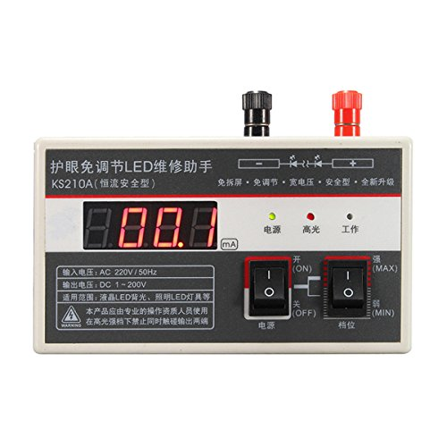 Price comparison product image 0-200V Digital LED Backlight Tester Meter Lamp Beads Repair - Measurement & Analysis Instruments Other Instruments - 1 x LED LCD TV Backlight Tester,  2 x Table Pen,  1 x Charger