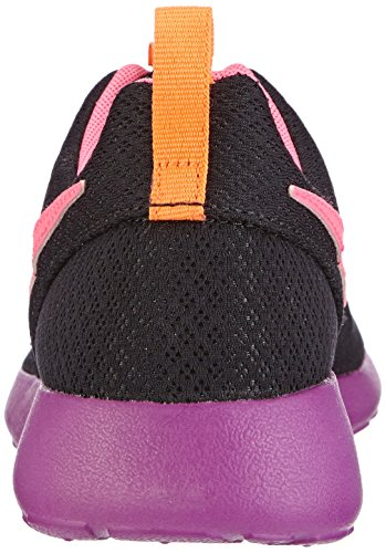 NIKE Kids Rosherun (GS) Laufschuh Schwarz / Pink Power-bold Berry-Orange