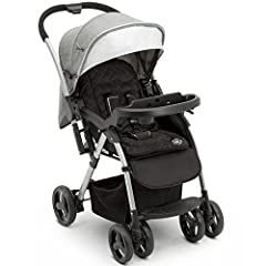 Designed to adapt to your child's growth, the Jeep Unlimited Reversible Handle Stroller can be used as travel system with any compatible infant car seat, as a parent-facing stroller or as a forward-facing stroller. Without disturbing your ch...
