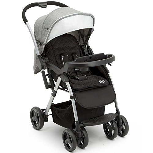 Jeep Unlimited Reversible Handle Stroller, Grey -