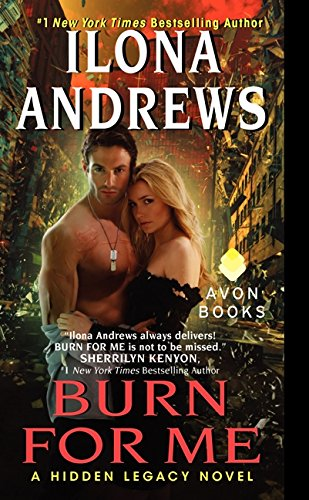 book cover of Burn for Me