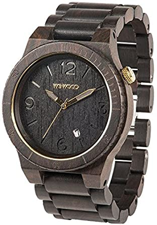 Alpha Black Gold WeWood: reloj de pulsera by WeWood