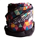 Wrist Wraps For Cross-Training, Fitness, Exercise, Bodybuilding, Olympic Weightlifting - Colors for Men and Women - Once Size Fits All - 100% Guaranteed (Diamond Pattern)