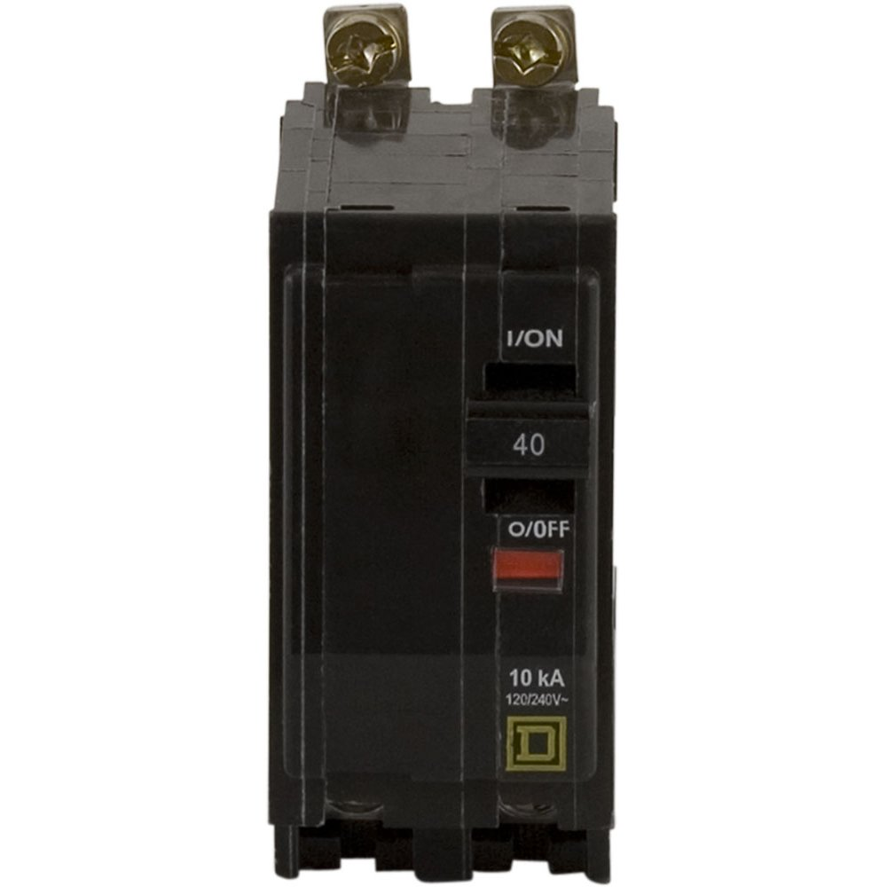 Square D by Schneider Electric QOB240CP 40-Amp Two-Pole Bolt-On Circuit Breaker