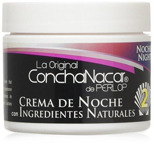 Concha Nacar De Perlop Night Cream, 2 Ounce