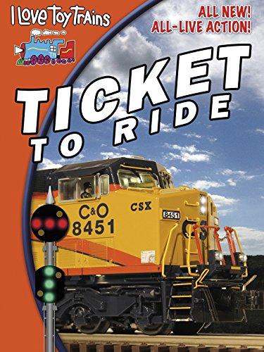 Amazon Com I Love Toy Trains Ticket To Ride Jeff