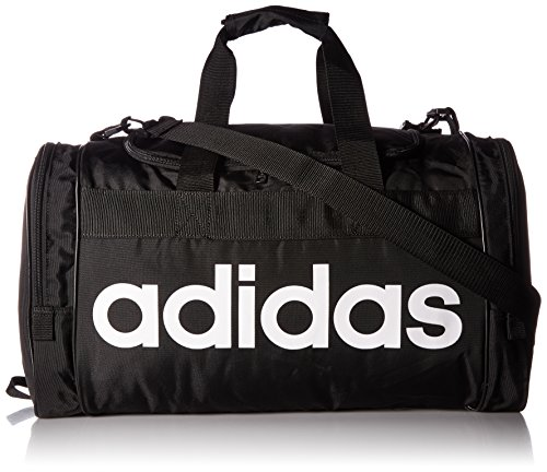 adidas Santiago Duffel Bag, Black/White, One Size