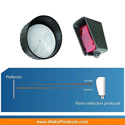 Aleko Gate Opener Safety Reversing Reflective Sensors Photo Import