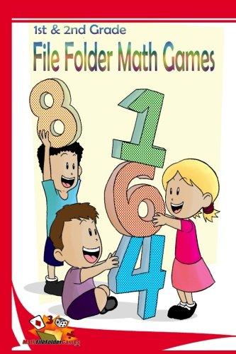 1st & 2nd Grade File Folder Math Games (Addition & Subtraction) (Book 2) (File Folder Math Games)