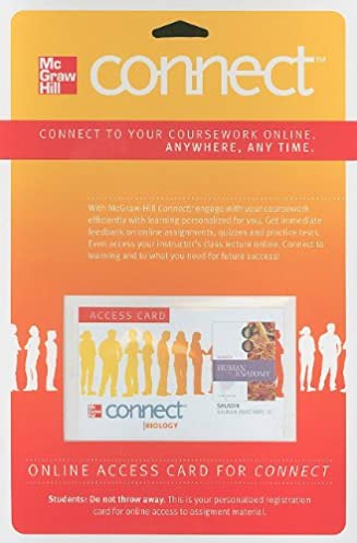 Mcgraw hill connect codes steps to verify master codes array connect access card for human anatomy with apr u0026 phils online access rh amazon fandeluxe Choice Image