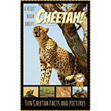 All About Cheetahs: Fascinating Cheetah Facts for Kids with Stunning Pictures! (6-10 years old)