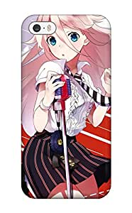 Brooke C. Hayes's Shop vocaloid animal cat ia koyubi microphone tie Anime Pop Culture Hard Plastic iPhone 5/5s cases 6241351K340961762