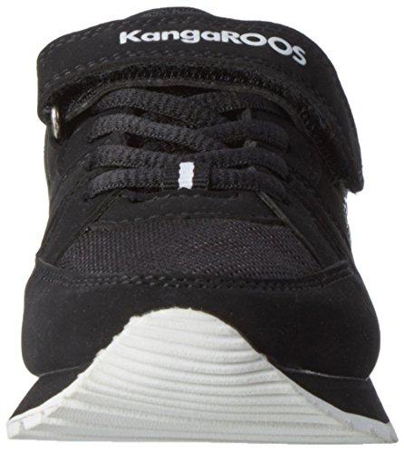 KangaROOS K-jog Vi - Zapatillas de casa Unisex Niños Negro (Black/White)