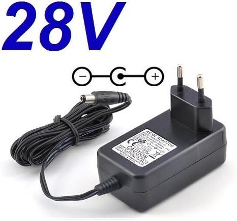 CARGADOR ESP Adaptateur Secteur Alimentation Chargeur 28V pour Remplacement PMW280200 OPI Studio LED Lamp Light GL900 Puissance du c/âble dalimentation pi/èces de Rechange