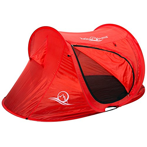 Lucky Bums Quick and Portable Camp Tent, (Tent For Youth Bed)