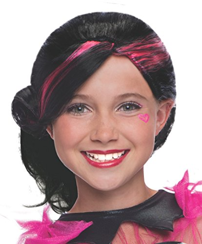[Rubies Monster High Draculaura Child Costume Wig] (Draculaura Kids Costumes)