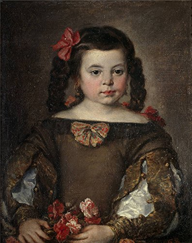 Theatre Costume Makers Uk (Polyster Canvas ,the Beautiful Art Decorative Prints On Canvas Of Oil Painting 'Antolinez Jose Una Nina Ca. 1660 ', 24 X 30 Inch / 61 X 77 Cm Is Best For Gift For Bf And Gf And Home Decor And Gifts)