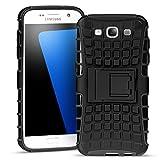 Samsung Galaxy S3 Outdoor Hülle Case in Schwarz Extra Schutz, Robuste Samsung Galaxy S3 Schutzhülle Handyhülle Cover Silikonhülle Rückschale