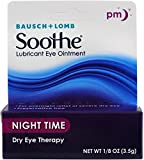 Bausch & Lomb Soothe Lubricant Eye Ointment Night Time 3.50 g (Pack of 3)