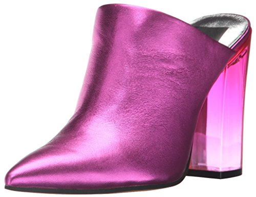 Metallic Leather Vita Dolce Mule WoMen Enya Fuchsia aCqOwX