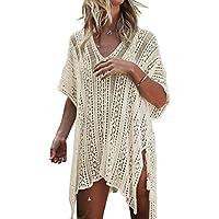 De la Mujer Summer Wear Traje de baño Cover Up Bikini Túnica playa vestido de crochet