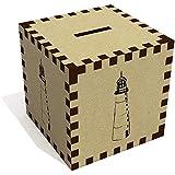 Azeeda 'Tall Lighthouse' Money Box / Piggy Bank (MB00054831)