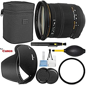 Sigma 17-50mm f/2.8 EX DC OS HSM Zoom Lens for Canon DSLRs with APS-C Sensors