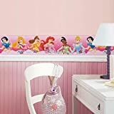 RoomMates Disney Princess Dream From The Heart Pink Peel and Stick Border