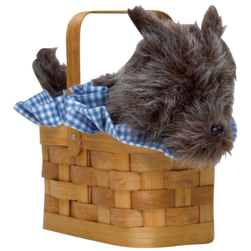 Dorothy's Dog Wizard Of Oz (Dorothy Doggy-in-a-Basket Costume Purse - Goes great with any Wizard of Oz)