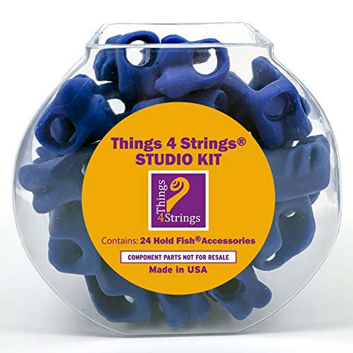Things 4 Strings Studio Kit: Hold Fish: Bright Blue