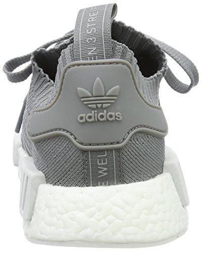 Adidas Dame Nmd_r1 W Pk FitnessSko, Grün Grå (grå Tre / Fodtøj Hvid)