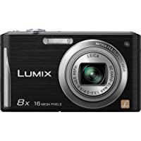 Panasonic Lumix DMC-FH27 16MP 8x Zoom Digital Camera with 3.0 Touchscreen (Black)