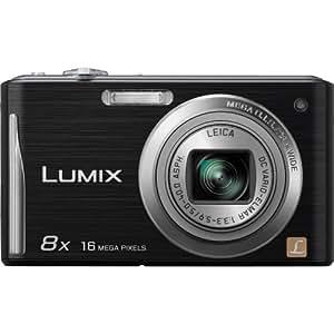 "Panasonic Lumix DMC-FH27 16MP 8x Zoom Digital Camera with 3.0"" Touchscreen (Black)"