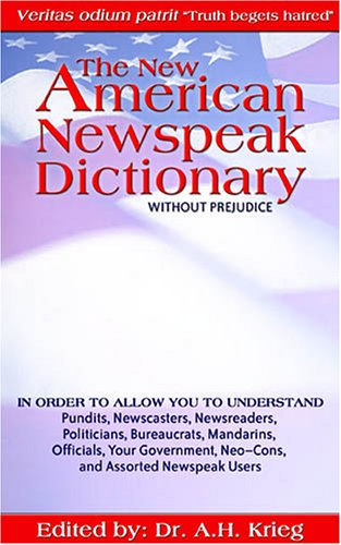 Download The New American Newspeak Dictionary pdf