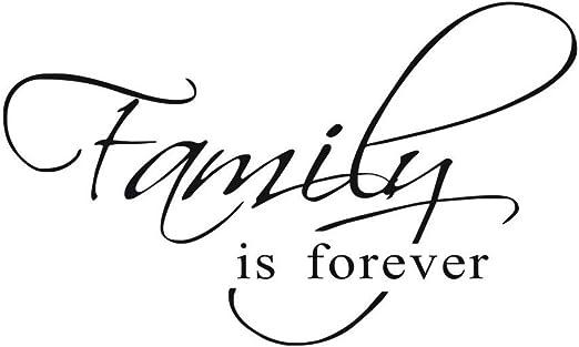 Vosarea La Familia es para Siempre Etiqueta de la Pared Vinilo ...