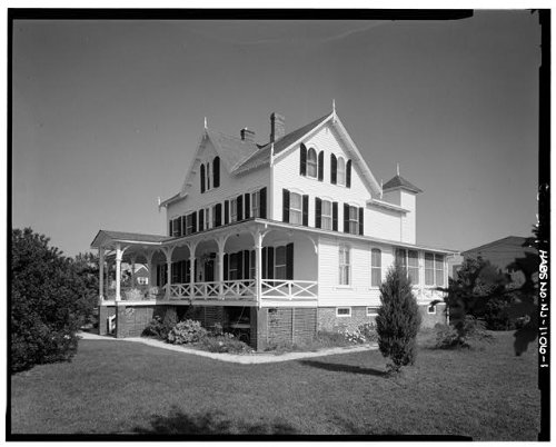 HistoricalFindings Photo: Sherborne Farm,319 Liberty Avenue,Beach Haven,Ocean County,NJ, Jersey,HABS