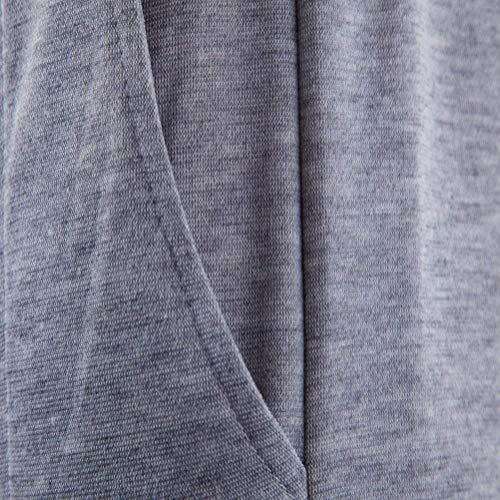 De Hombre Gris Rectos Deportivos Battercake Cortos Slim Pantalones Sólido Con Adolescentes Largo Cómodo Otoño Color Cordones Para Clásico Primavera O5SSUq