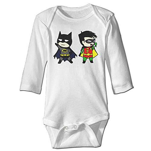Chibi Batman And Robin Cute Cute Baby Onesie Cotton Baby Outfits (Robin Outfit For Babies)