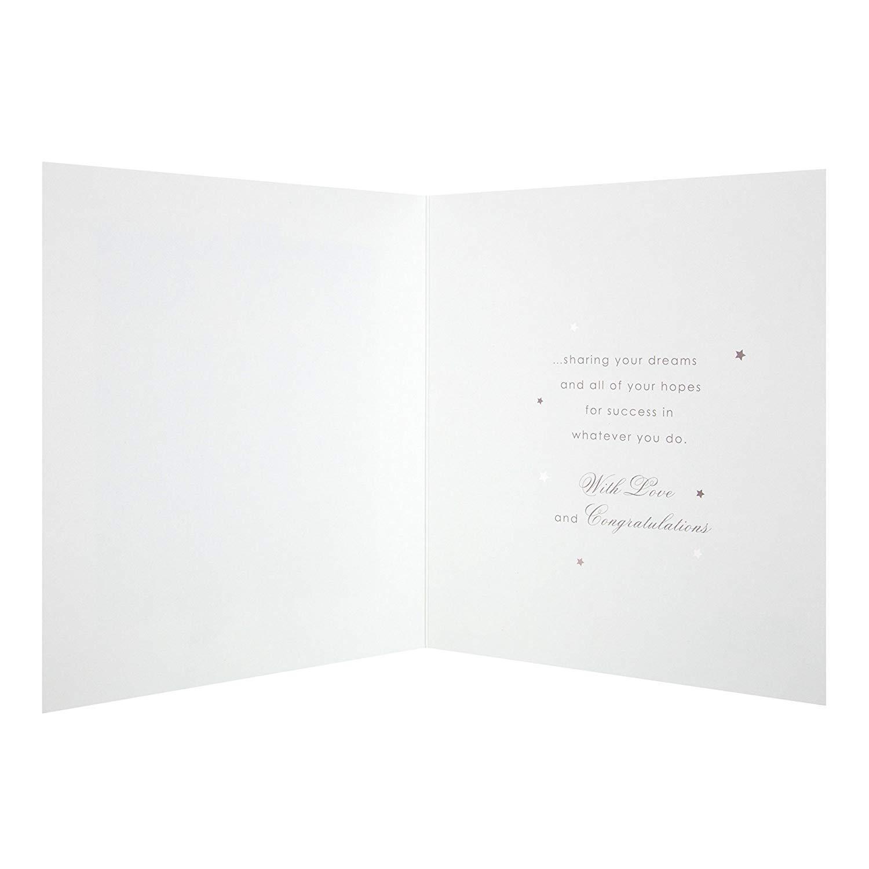 3D Effect Plaque Design Graduation Congratulations Card for Son from Hallmark