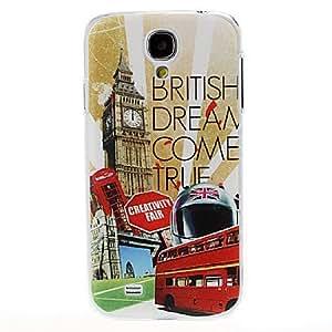 PEACH-British Dream Style Plastic Case for Samsung Galaxy S4 I9500