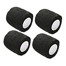 Qiorange 2 Inches X 5 Yards Self Adherent Cohesive Wrap Bandages Strong Elastic First Aid Tape for Wrist Ankle