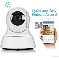 Home Security IP Camera Wireless Mini Surveillance Wifi 720P Night Vision IP Camera to monitor your lovely children and pets.