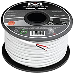14AWG 2-Conductor Speaker